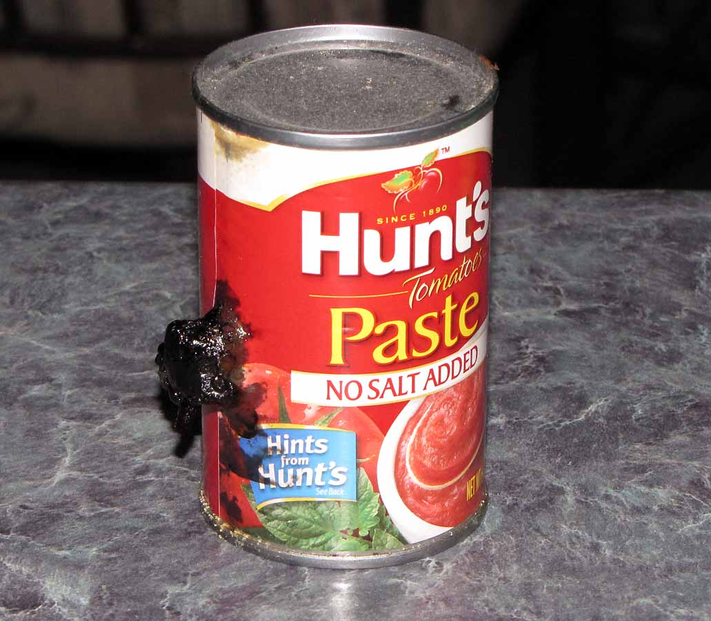 Bulging Canned Food