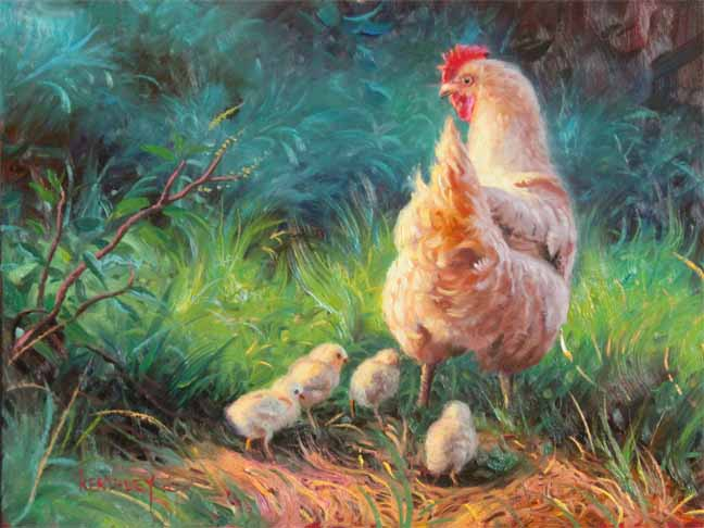 http://www.ruralramblings.com/wp-content/uploads/2011/05/Mark-Keathley-Easter-Parade-painting-05-06-11.jpg